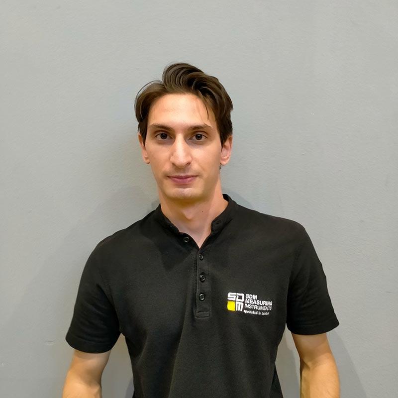 Marco Nugnes, Service, Sdm Measuring Intruments