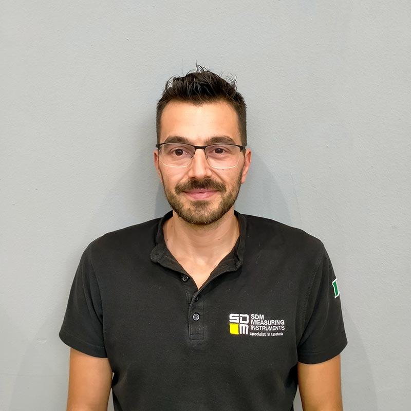 Marco Pierozzi, Laboratorio, Sdm Measuring Instruments